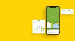 Pantalla de histórico de consumo de la app de Iberdrola clientes