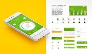 Imagenes del sistema de diseño utilizado en la pantalla de Hogar Inteligente de la app de Iberdrola clientes