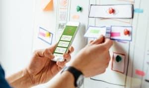 Imagenes de investigación con usuarios para la app de Iberdrola clientes