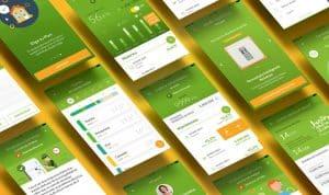 Pantallas de la app de Iberdrola clientes